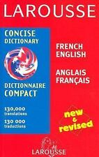 Larousse Concise Dictionary: French-English/English-French (Larousse-ExLibrary