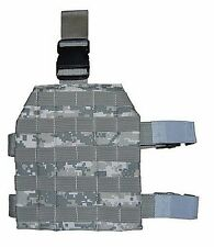 ACU Digital Camo Universal Adjustable MOLLE Drop Leg Platform Panel Holster 231A
