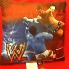 NEW    WWE   WRESTLING DECORATIVE BED PILLOW