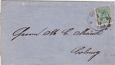 Schöner Brief von 1878 von Gotha nach Coburg Preisliste Ölmühle & Raffinerie