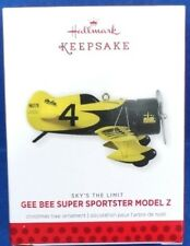 2013 Gee Bee Super Sportster Hallmark Retired Series Ornament