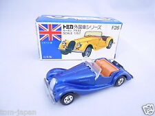 RARE Vintage Tomica 1977 Morgan Plus 8 F26 1/57 BLUE TOMY from Japan F/S