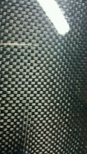 "Real Carbon Fiber Fiberglass Panel Sheet 6""×18""×1/4"" Glossy One Side plain weave"