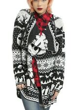 Disney The Nightmare Before Christmas Fly Away Fair Isle Cardigan Size 2X NWT!