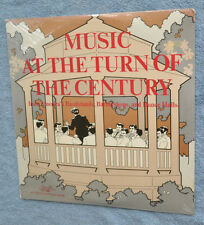 2 LP Music At Turn of the Century American Heritage ragtime Sousa minstrel show