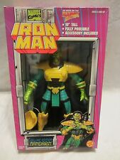"1994 MARVEL IRON MAN DELUXE EDITION ""MANDARIN"" 10"" ACTION FIGURE"