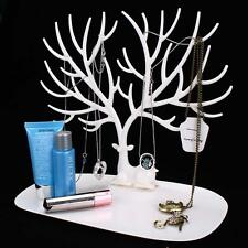 Jewelry Necklace Ring Earring Tree Stand Display Organizer Holder Show Rack B TL