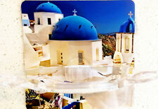 Santorini Blue Skydome Toothbrush and Soap Holder