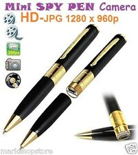 Spy Pen Camera HD Video Recorder Hidden Pinhole Cam Camcorder DVR 1280 X 960 GD