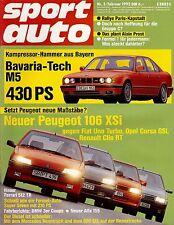 Sport Auto 02/92, Test: BMW 325i Coupé, Caterham Super Seven 16V, 210 PS,
