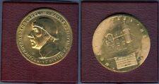 Médaille de table - Albert de Jaeger Colonel de Gaulle Cdt VI° DCR 1939