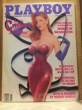 1988 November PLAYBOY MAGAZINE Erotica Cinema Jessica Rabbit - LIKE NEW!!