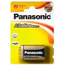 5 PILE Alcaline 9V 6LR61 PANASONIC Alcaline Power BATTERY BLOCK MN1604 6F22