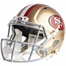 SAN FRANCISCO 49ERS RIDDELL SPEED NFL FULL SIZE REPLICA FOOTBALL HELMET