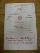 03/02/1968 Crewe Alexandra v Lincoln City  (faint marks). Thanks for viewing thi