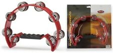 Stagg Tab-2 Tambourine Cutaway, Red