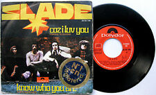 "SLADE Coz I Luv You - 7"" 45 Polydor 1971 Glam Rock Spain Spanish"