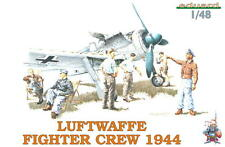 LUFTWAFFE 1944 (6 Fig) EDUARD 1/48 PLASTIC KIT