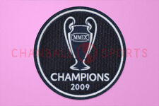UEFA Champions League Winner 2009 Barcelona Sleeve Soccer Patch / Badge