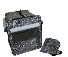 Dog Cat Pet Bed House Soft Carrier Crate Cage w/Case L-Zebra
