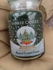 Yankee candle Magical frosted forest  uk limited edition