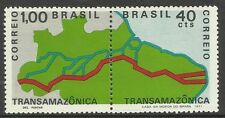 BRAZIL. 1970. Trans-Amazon Highway, Pair. SG: 1321a. Unused.
