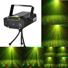 Mini LED Stage Laser Light Red & Green R&G Star Projector Strobe DJ Disco Party