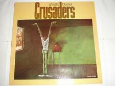 The  Crusaders - Ghetto Blaster  Original 1984 UK MCA LP