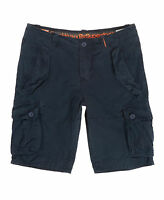 New Mens Superdry Core Cargo Heavy Shorts Airforce