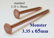 Copper Tree Stump Killer - 40xV.Large 65mm Copper Nails