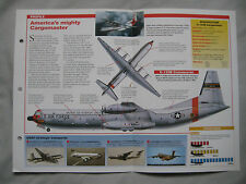 Aircraft of the world Card 69 , Group 4 - Douglas C-133 Cargomaster