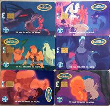 Malaysia Used Phone Card : 6 pcs Disney Hercules