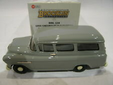 1/43 BROOKLIN 134 CHEVROLET SUBURBAN CARRYALL 1955 GRANITE GRAY