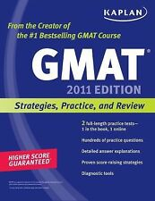 Kaplan GMAT 2011: Strategies, Practice, and Review-ExLibrary
