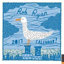 Rob Ryan 2017 Wall Calendar by Rob Ryan 9780789331922 (Calendar, 2016)