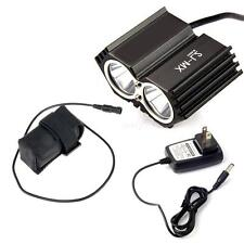 5000LUM Black XML U2 LED Bike Bicycle HeadLamp Light + 4x18650 Battery STGG