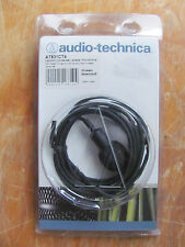 Audio-Technica AT831cT4 Microphone Terminated For Shure Body-Pack Wireless NEW