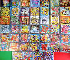 46 x NOW THAT'S WHAT I CALL MUSIC cds 35 TO 80 **SEALED** CD JOBLOT COLLECTION