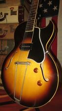 Vintage 1957 Gibson ES-225 Hollowbody Electric Guitar Clean Plays Great w/ Case