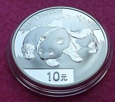 2008  CHINA SILVER PANDA   1oz 10 YUAN  BU COIN