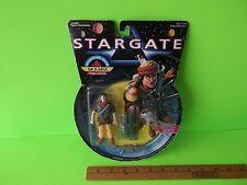 """Stargate Rebel Leader Skaara 4""""in Figure with Shooting Rebel Launcher & Artifact"""