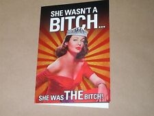 Bitchy birthday card 1103 - gay / straight humour