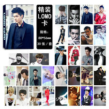 New 30pcs set Kpop EXO XOXO Kris Personal Lomo Card Photocard Poster
