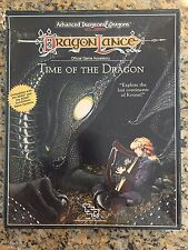 DragonLance - Time of The Dragon box set. AD&D 2nd Edition TSR 1050