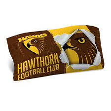 Hawthorn Hawks AFL Pillow Case Pillowcase Birthday Fathers Gift *NEW 2017*