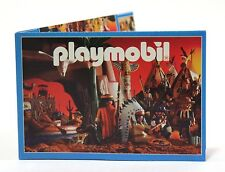 1998 Playmobil NORTH AMERICAN INDIANS COVER CATALOG - Brand new! [LAST ONE!]