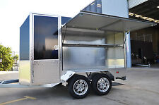 MOBILE COFFEE ALUMINUM VAN TRAILER - LIGHTWEIGHT & PRESENTABLE