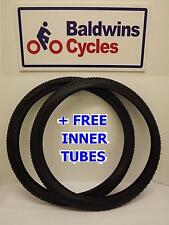"ONE PAIR 26"" x 2.10 Mountain Bike Bike Tyres (54-559) + 2 FREE INNER TUBES"