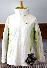 Berghaus Atira Size UK 12 Gore-Tex White & Green Jacket Cost Over £200 +.