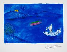 MARC CHAGALL Facsimile Signed Limited Edition Art Giclee ECHO